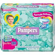 Salviette pampers 70 x 2