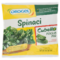 Spinaci cubello 900gr.