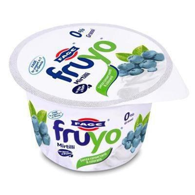 Yogurt Fage mirtillo zero grassi  170 gr.