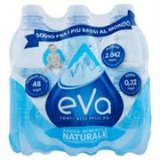 Acqua Eva naturale 6 x0,50 cl.